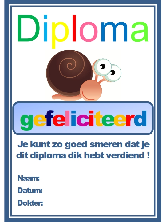 Diploma A5 op een papier_001