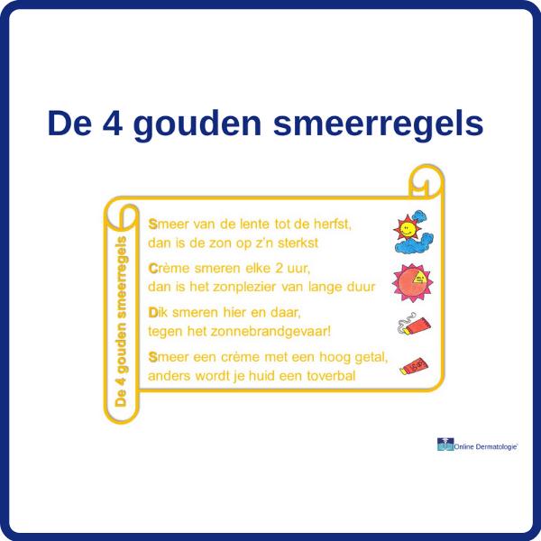 de 4 gouden smeerregels